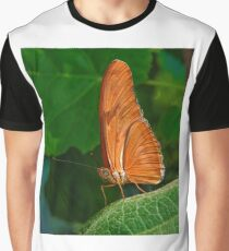 Julia Heliconian butterfly, (Dryas Iulia), Graphic T-Shirt