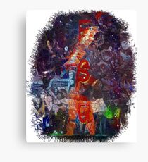 The Spear Canvas Print