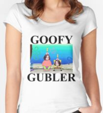 i'm a goofy gubler, yeah Women's Fitted Scoop T-Shirt