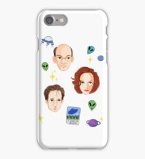 X Files - FBI Agents iPhone Case/Skin