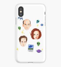X Files - FBI Agents iPhone Case/Skin
