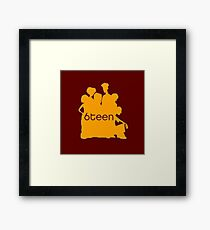 6teen Framed Print