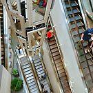 Escaletors at Kodak Theatre Mall by Eyal Nahmias