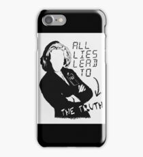 """Dana Scully """"all lies lead to the truth"""" iPhone Case/Skin"""