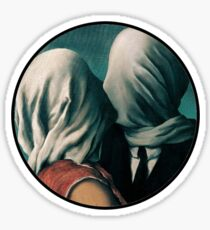 The Lovers Rene Magritte Sticker