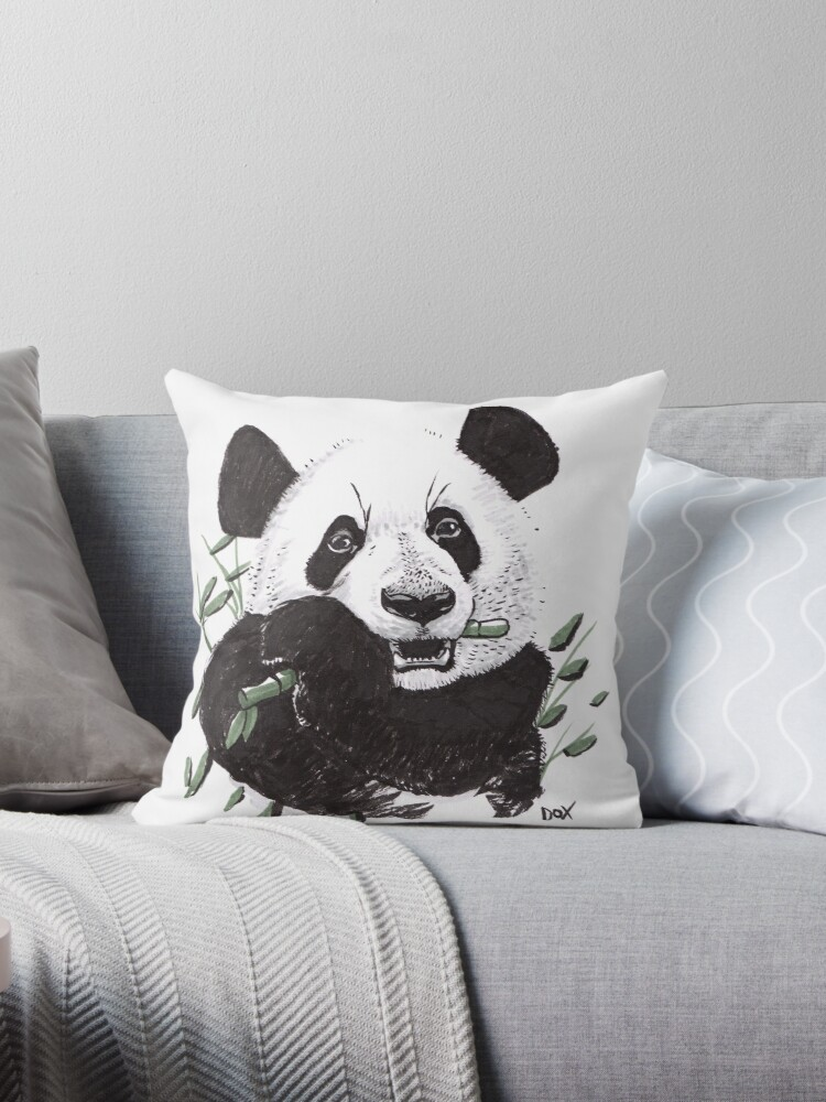 Hungry Panda by Dox-studio