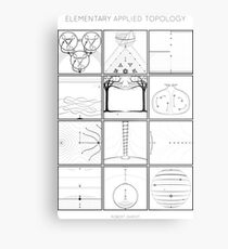 Elementary Applied Topology Metal Print