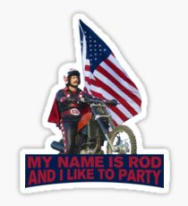 My Name Is Rod Sticker