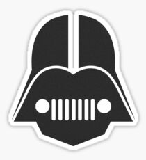DarthJeep Sticker