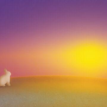 Bunny Sunrise by prettystrangeu