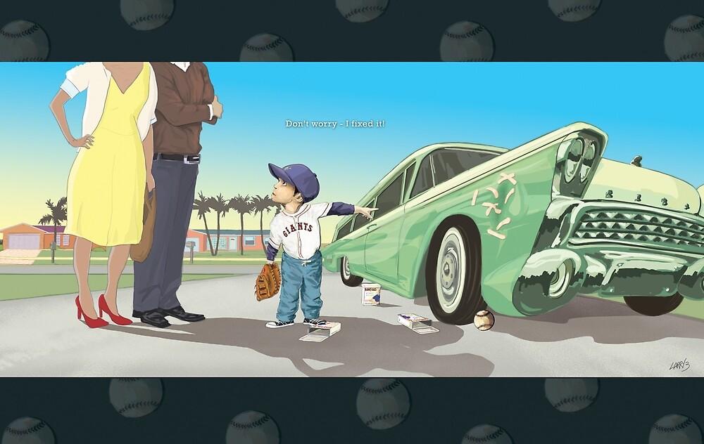 Car Dent by Larry3studios