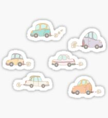 Rush hour Sticker