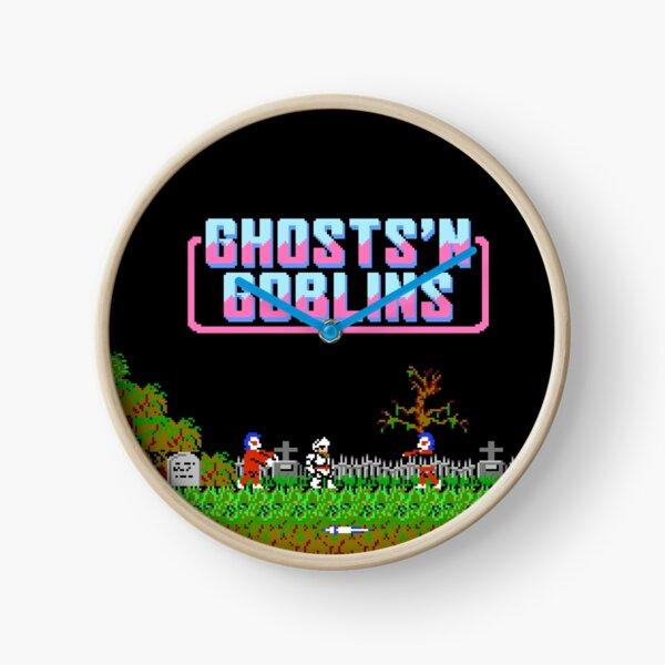 Ghosts 'n Goblins (NES Title Screen) Clock
