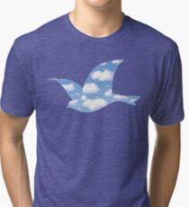 Rene Magritte La Promesse Tri-blend T-Shirt
