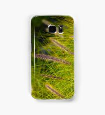 Fountain Grass, Pennisetum alopecuroides, in bloom Samsung Galaxy Case/Skin