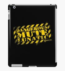 Dangerous Mute Lunatic iPad Case/Skin