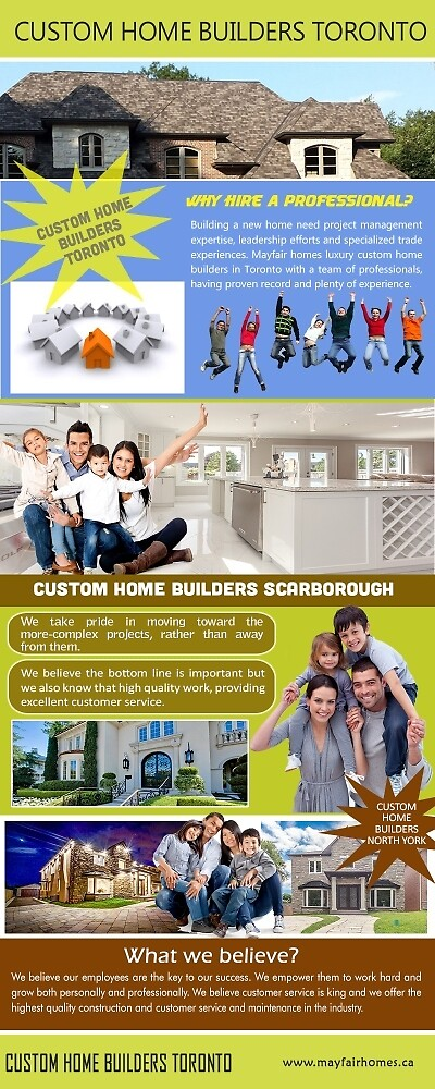 Toronto Custom Home Builders by Luxury Custom home  Builders Toronto