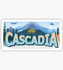 Come Visit Cascadia (second edition) Sticker