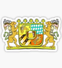 Wolpertinger Coat of Arms  Sticker