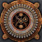 Vintage Steampunk Clock No.1 by Steve Crompton