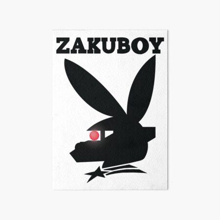 ZAKUBOY - Black Art Board Print