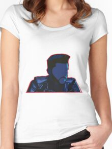 The Weeknd - Starboy Women's Fitted Scoop T-Shirt