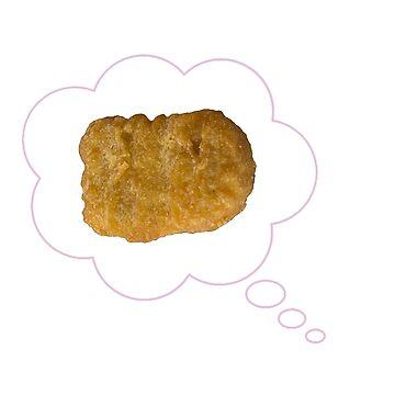 Chicken Nugget Thoughts by alyssajames18