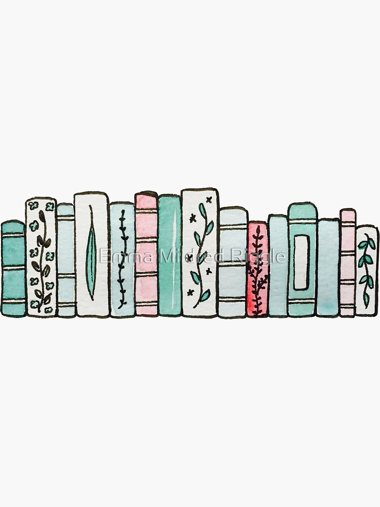 Pastel Books by gentlecounsel