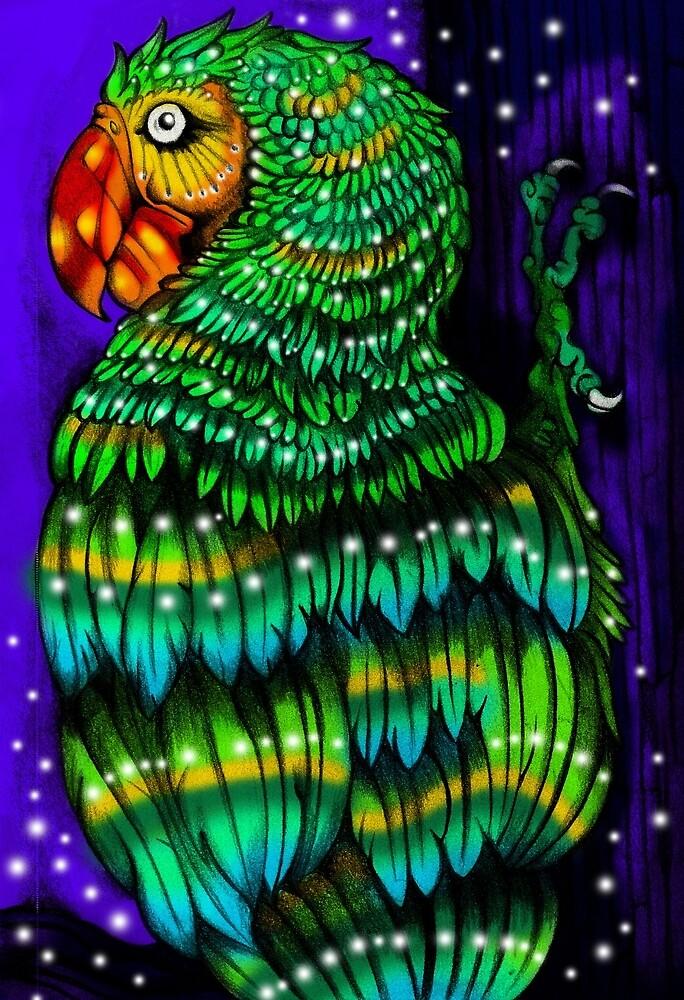 Parrot Dream by Laflecha