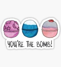 You're the Bomb (Bath Bombs) Sticker