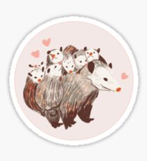 the more the merrier Sticker