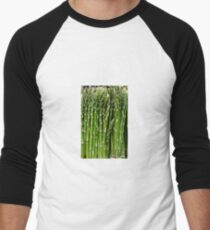 Asparagus Men's Baseball ¾ T-Shirt