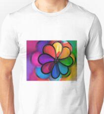 Colors Wheel, Wind Vane Unisex T-Shirt