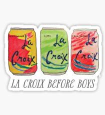 La Croix Before Boys Sticker