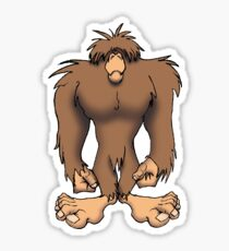 The Squatch Sticker