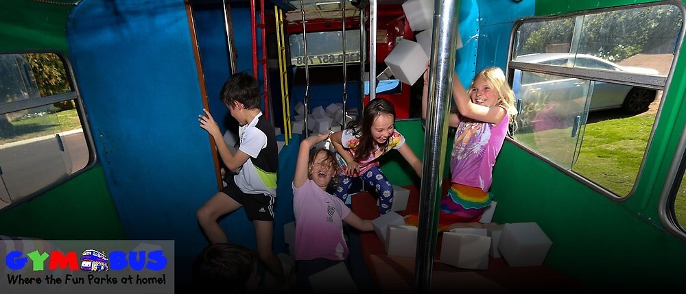Kids birthday party Perth by gymbus