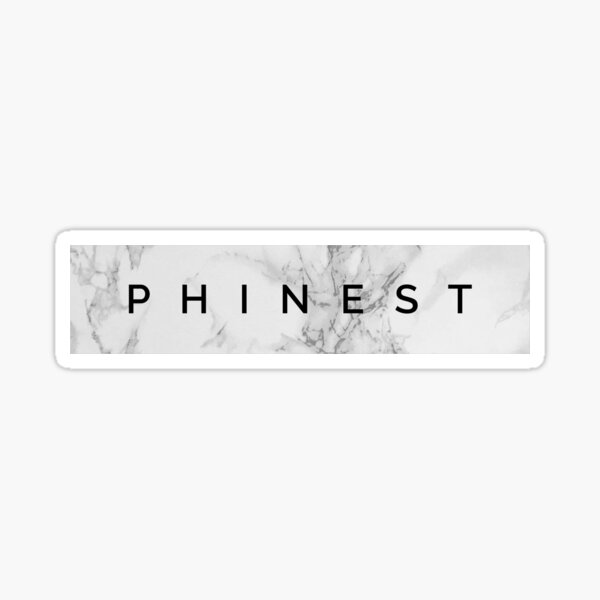 Phinest in Granite Sticker