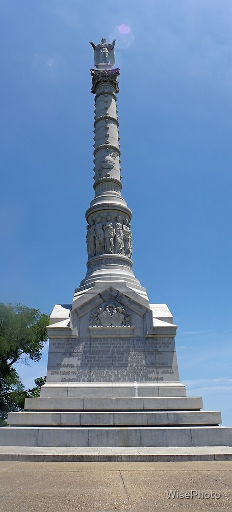 Yorktown Victory Monument by WisePhoto