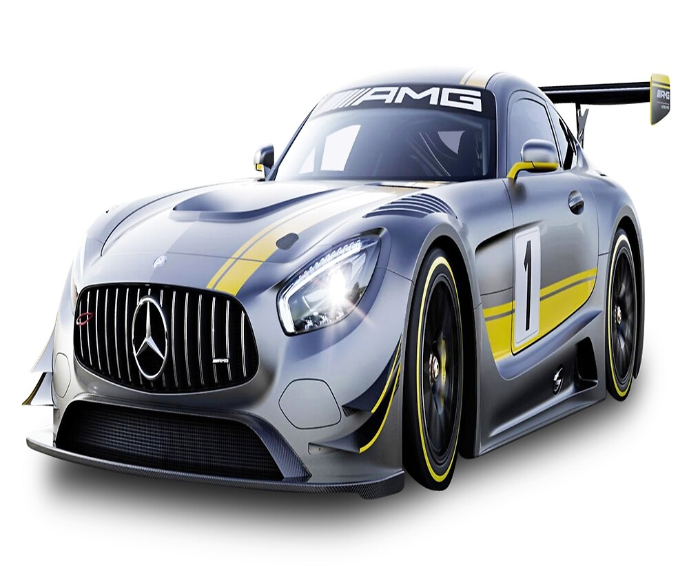 Mercedes Benz Race Car  by whomadewhat