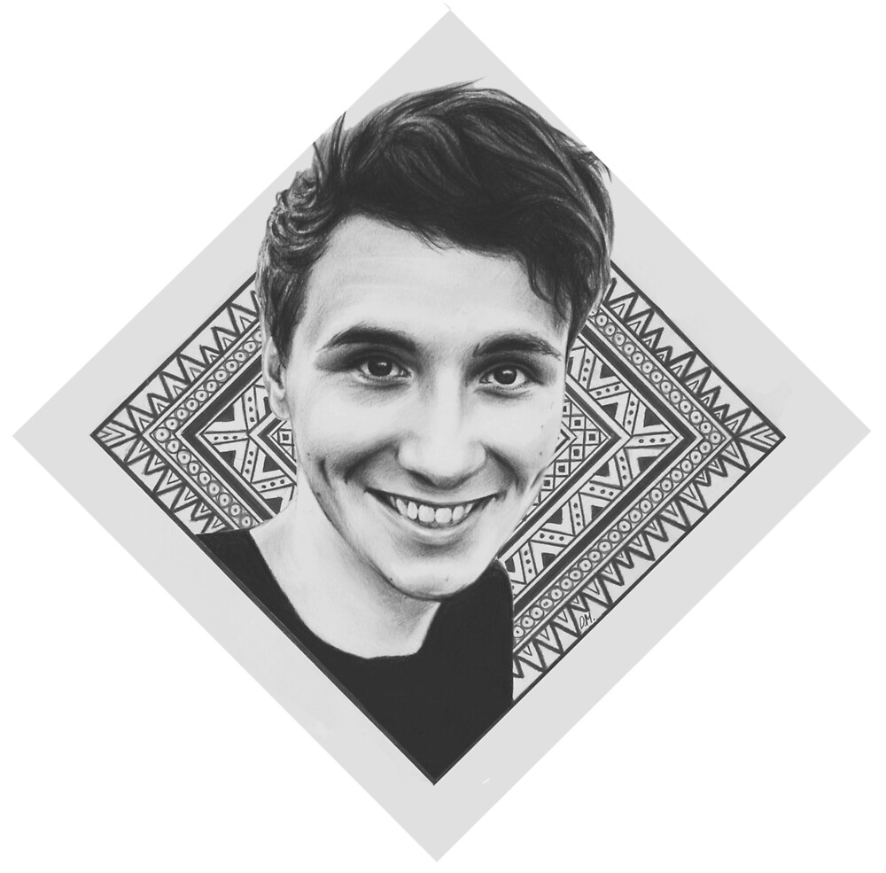 Diamond Dan Howell by Sophie Howard