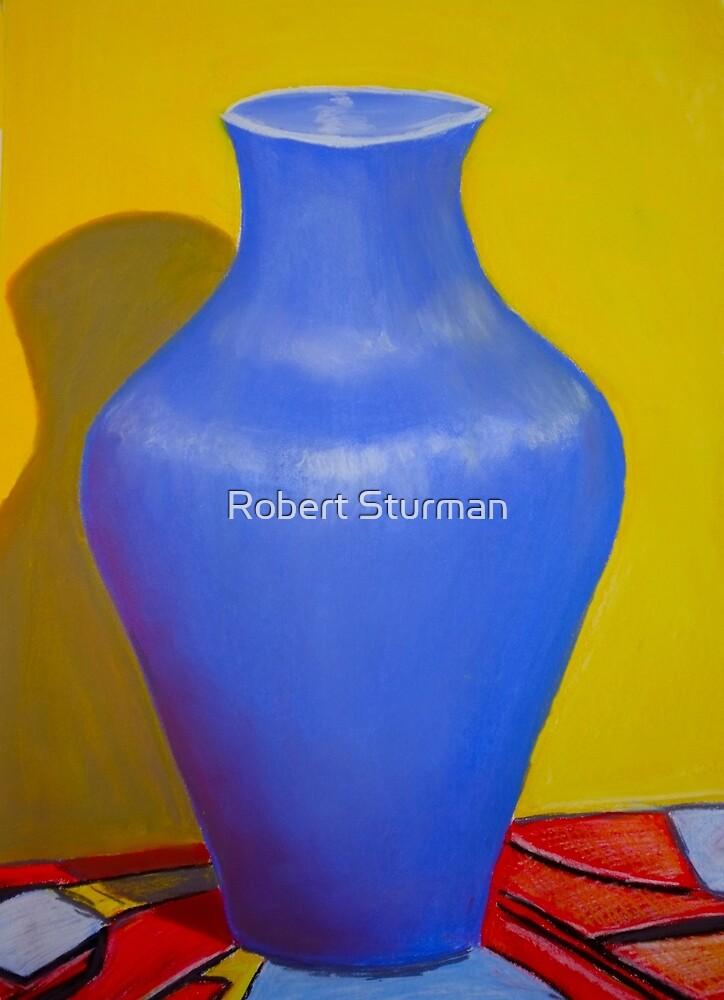 Blue Vase by Robert Sturman