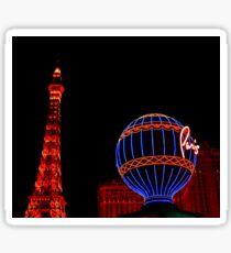 Paris in Vegas  Sticker