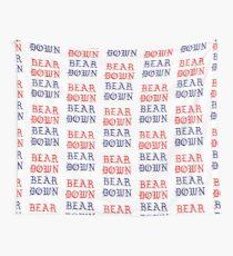 BEAR DOWN PABLO Wall Tapestry