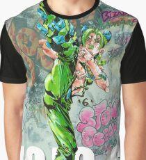 jolyne stone ocean graffiti Graphic T-Shirt