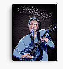 Phillip Phillips Portrait Canvas Print