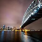 Sydney Harbour Bridge Nth by David Haworth