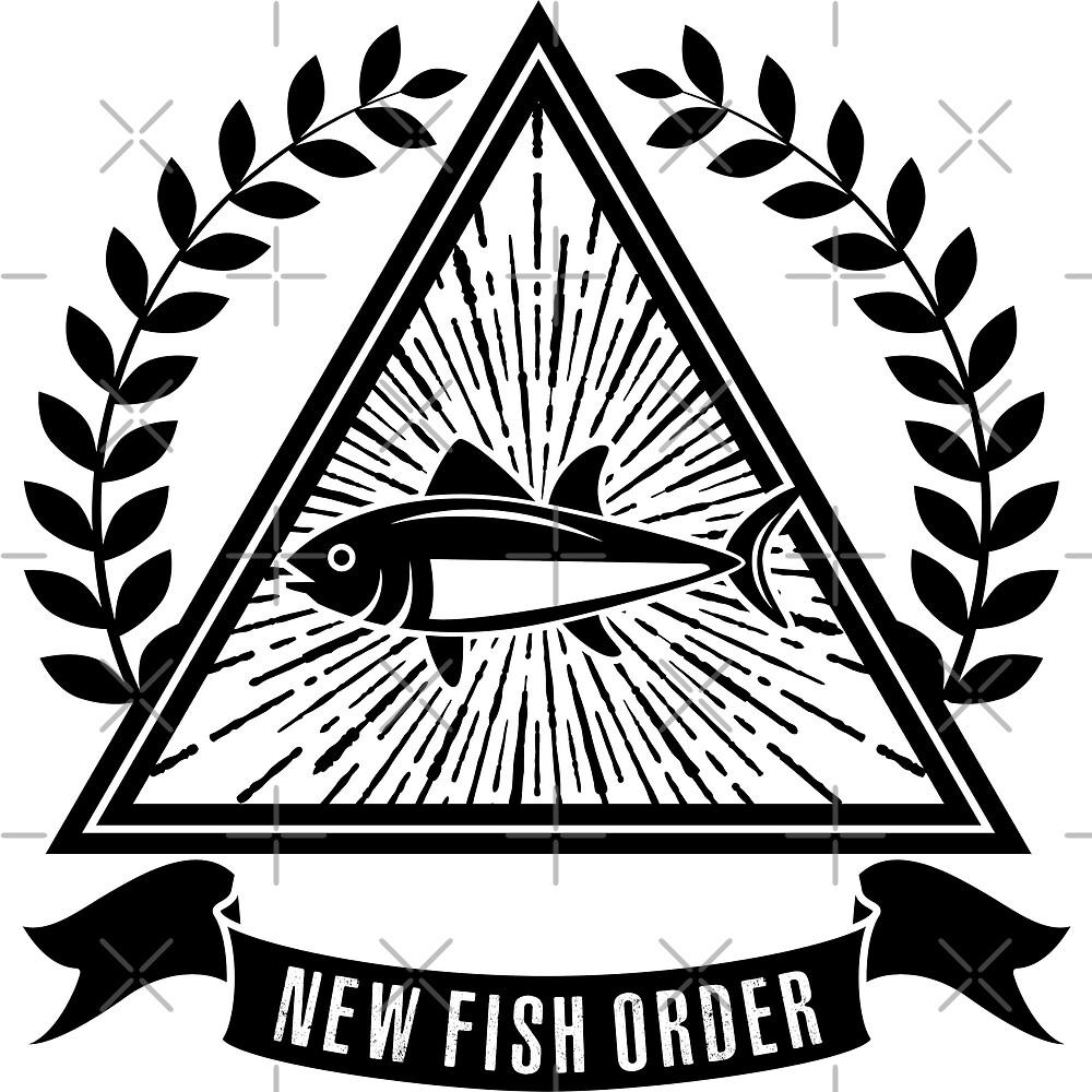 New Fish Order Fishing Art by goodspy