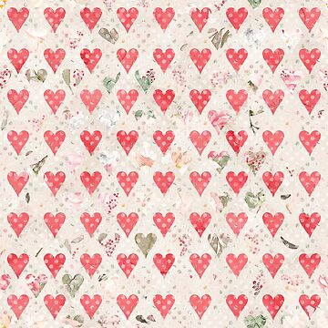 Hearts Pattern by ThomasThornley