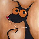 Stressie Cat Portrait by StressieCat