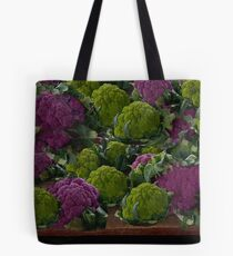 BEAUTIFUL PURPLE & GREEN CAULIFLOWER-PICTURE,TOTE BAG,TRAVEL MUGS,PILLOWS..ECT.. Tote Bag
